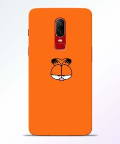 Garfield Cat Oneplus 6 Mobile Cover