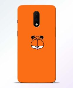 Garfield Cat Oneplus 7 Mobile Cover