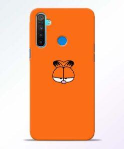 Garfield Cat Realme 5 Mobile Cover