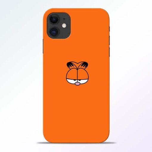 Garfield Cat iPhone 11 Mobile Cover - CoversGap