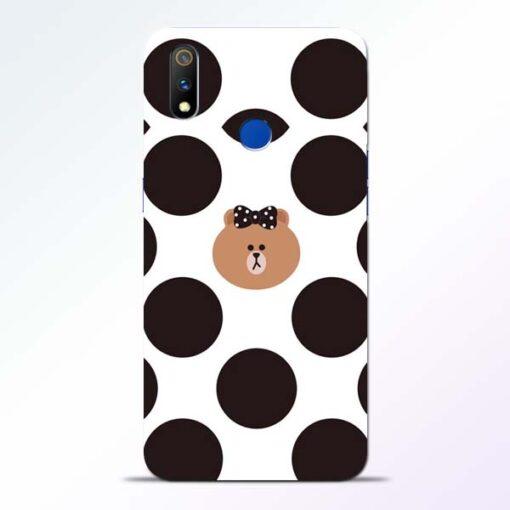 Girl Panda Realme 3 Pro Mobile Cover