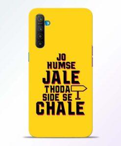 Humse Jale Side Se Realme XT Mobile Cover