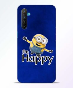 I am Happy Minion Realme XT Mobile Cover