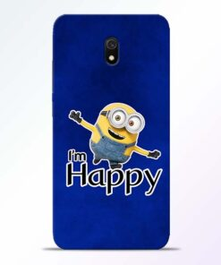 I am Happy Minion Redmi 8A Mobile Cover