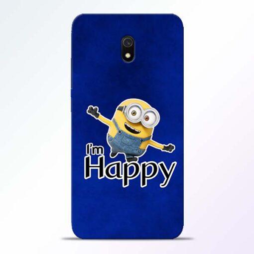 I am Happy Minion Redmi 8A Mobile Cover