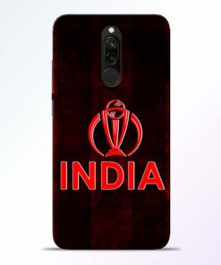 India Worldcup Redmi 8 Mobile Cover