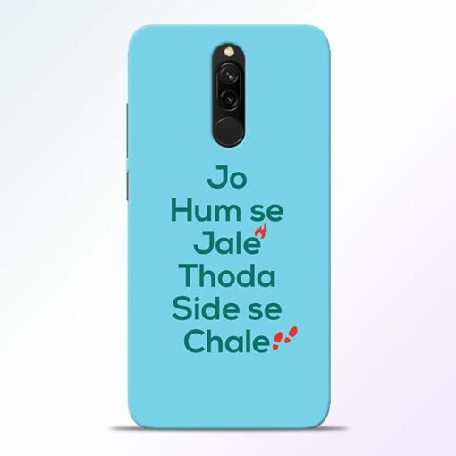 Jo Humse Jale Redmi 8 Mobile Cover