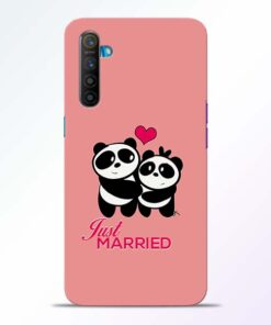 Just Married Realme XT Mobile Cover