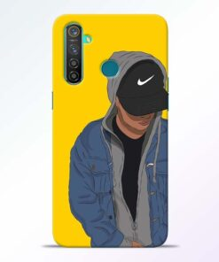 Kakashi Boy Realme 5 Pro Mobile Cover
