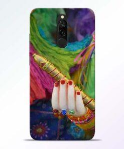 Krishna Hand Redmi 8 Mobile Cover