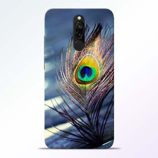 Krishna More Pankh Redmi 8 Mobile Cover