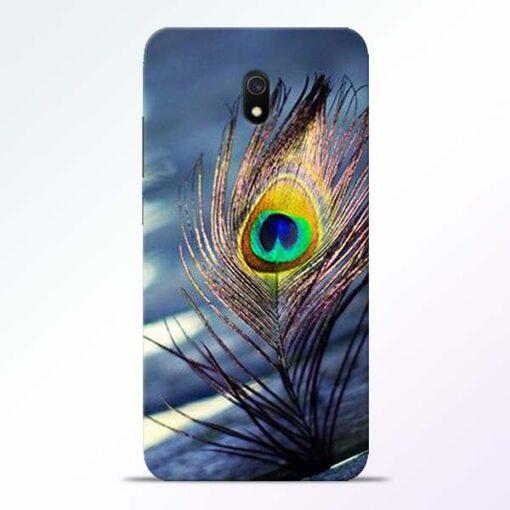 Krishna More Pankh Redmi 8A Mobile Cover