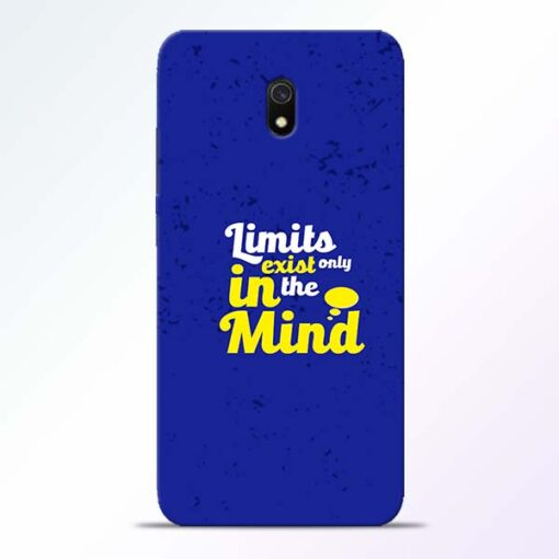 Limits Exist Redmi 8A Mobile Cover