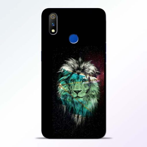 Lion Print Realme 3 Pro Mobile Cover