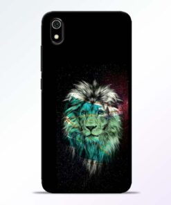 Lion Print Redmi 7A Mobile Cover - CoversGap
