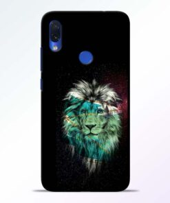 Lion Print Redmi Note 7s Mobile Cover - CoversGap