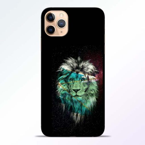 Lion Print iPhone 11 Pro Mobile Cover - CoversGap