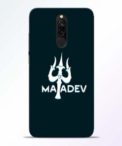 Lord Mahadev Redmi 8 Mobile Cover