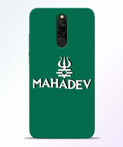 Lord Shiva Trishul Redmi 8 Mobile Cover