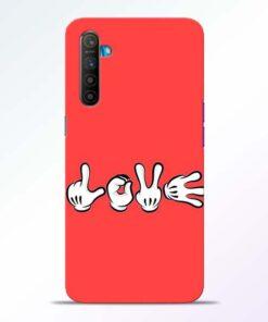 Love Symbol RealMe XT Mobile Cover