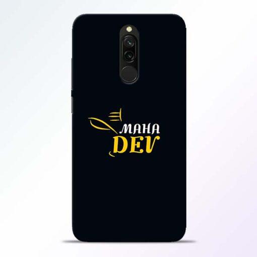 Mahadev Eyes Redmi 8 Mobile Cover