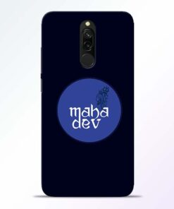 Mahadev God Redmi 8 Mobile Cover