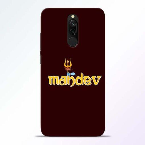 Mahadev Trishul Redmi 8 Mobile Cover