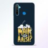 Main Aur Aalsi Realme 5 Mobile Cover