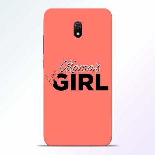 Mama Girl Redmi 8A Mobile Cover
