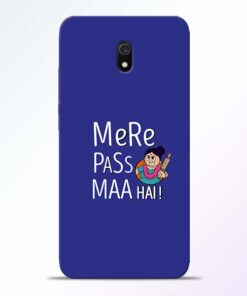 Mere Paas Maa Redmi 8A Mobile Cover