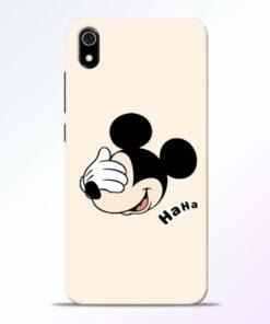 Mickey Face Redmi 7A Mobile Cover - CoversGap