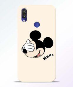 Mickey Face Redmi Note 7 Pro Mobile Cover - CoversGap