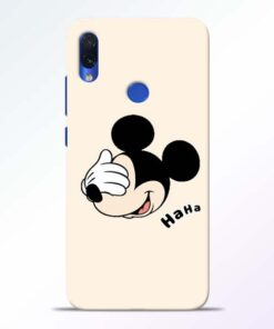Mickey Face Redmi Note 7s Mobile Cover - CoversGap