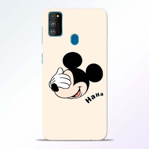 Mickey Face Samsung Galaxy M30s Mobile Cover