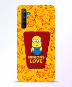 Minions Love Realme XT Mobile Cover