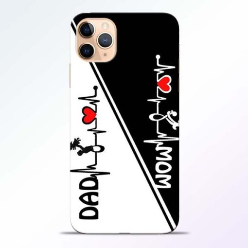 Mom Dad iPhone 11 Pro Mobile Cover - CoversGap