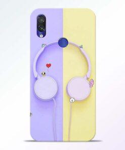 Music Lover Redmi Note 7 Pro Mobile Cover - CoversGap