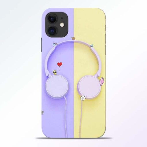 Music Lover iPhone 11 Mobile Cover - CoversGap