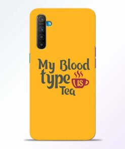 My Blood Tea Realme XT Mobile Cover