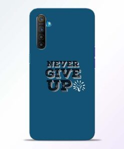 Never Give Up Realme XT Mobile Cover