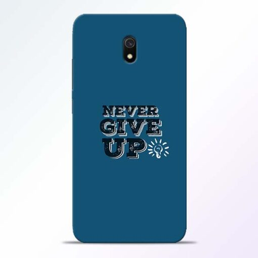 Never Give Up Redmi 8A Mobile Cover