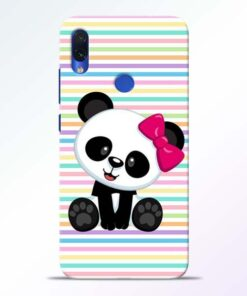 Panda Girl Redmi Note 7s Mobile Cover - CoversGap