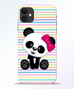 Panda Girl iPhone 11 Mobile Cover - CoversGap