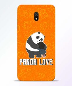 Panda Love Redmi 8A Mobile Cover