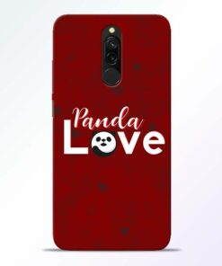 Panda Lover Redmi 8 Mobile Cover