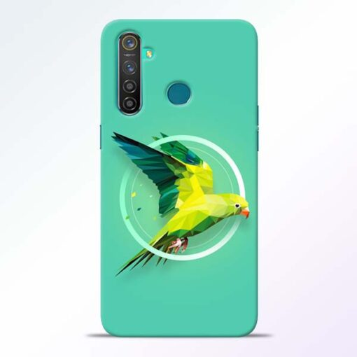 Parrot Art Realme 5 Pro Mobile Cover