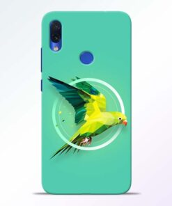 Parrot Art Redmi Note 7s Mobile Cover - CoversGap