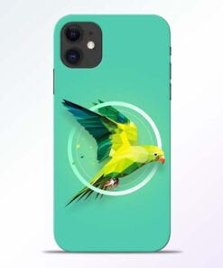 Parrot Art iPhone 11 Mobile Cover - CoversGap