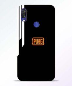 Pubg Lover Redmi Note 7 Pro Mobile Cover - CoversGap