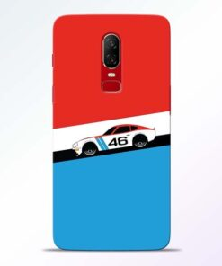 Racing Car Oneplus 6 Mobile Cover